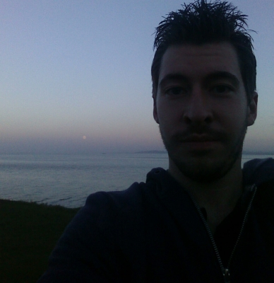 Me on the little orme
